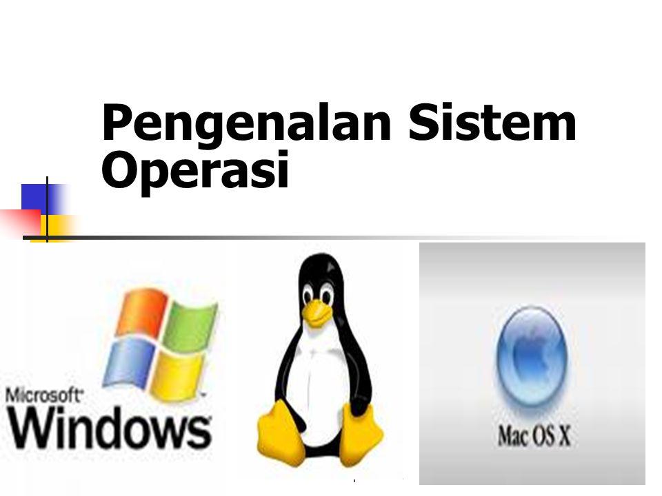 Pengenalan Sistem Operasi