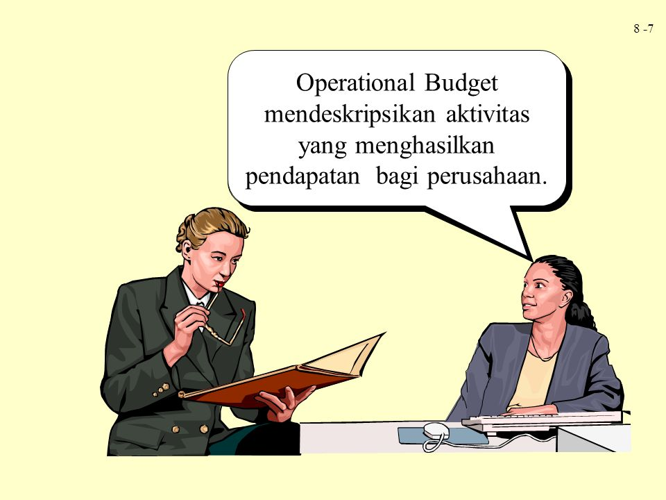 Operating budgets describe the income-generating activities of a firm.