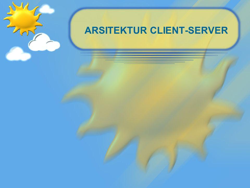 Arsitektur Client-Server