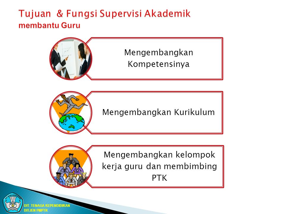 Tujuan & Fungsi Supervisi Akademik membantu Guru