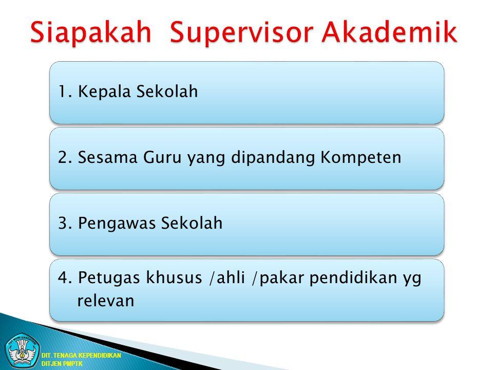 Siapakah Supervisor Akademik