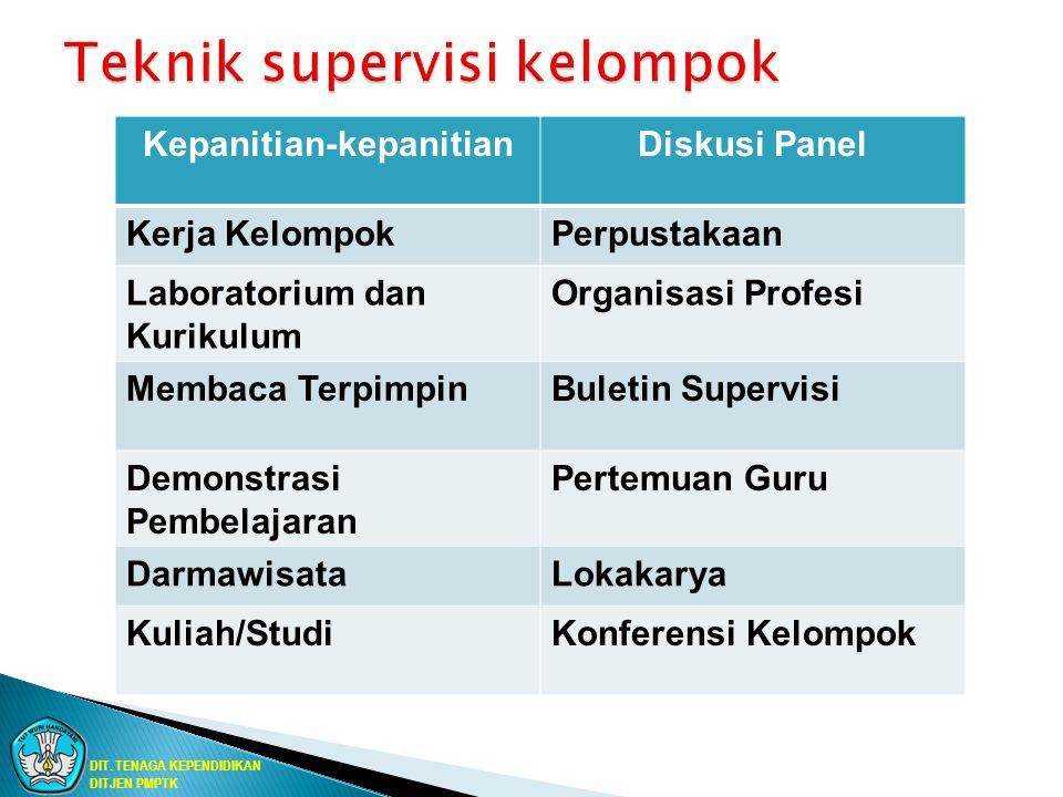 Teknik supervisi kelompok