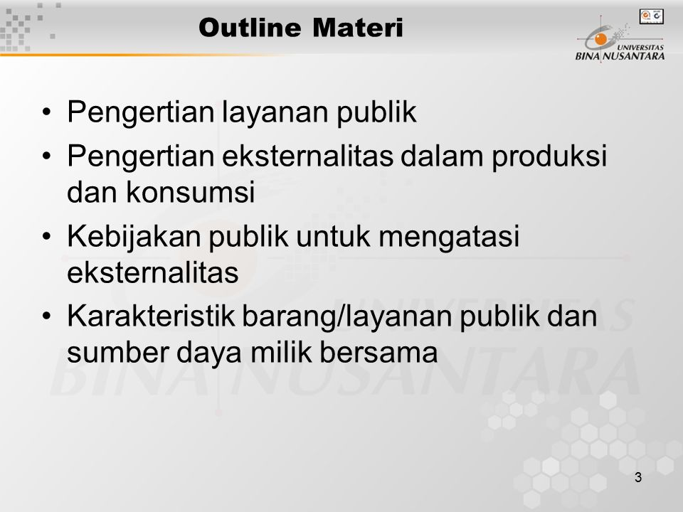 Pengertian layanan publik