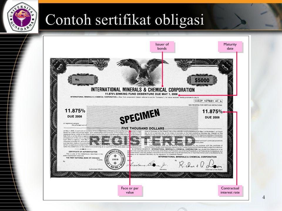 Contoh sertifikat obligasi