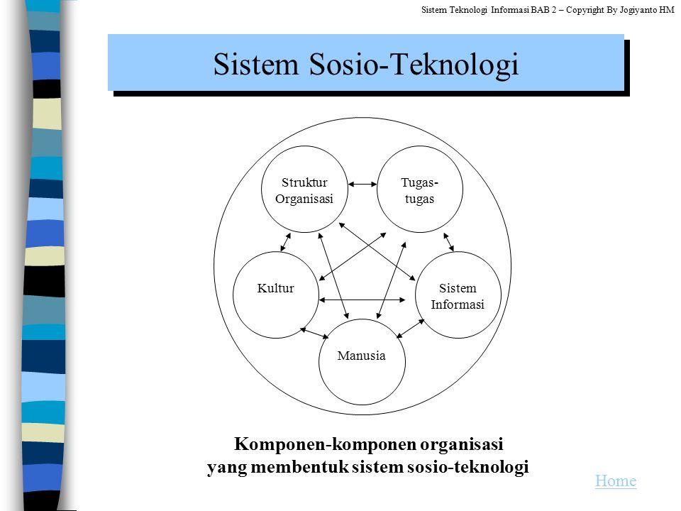 Sistem Sosio-Teknologi