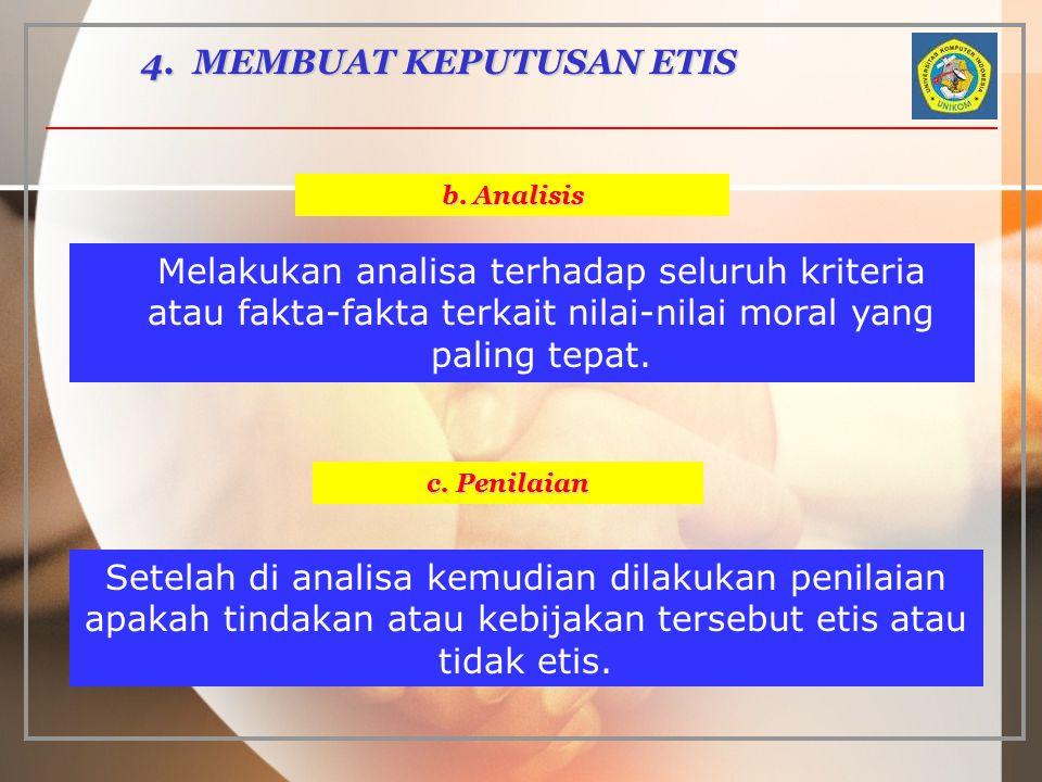 4. MEMBUAT KEPUTUSAN ETIS