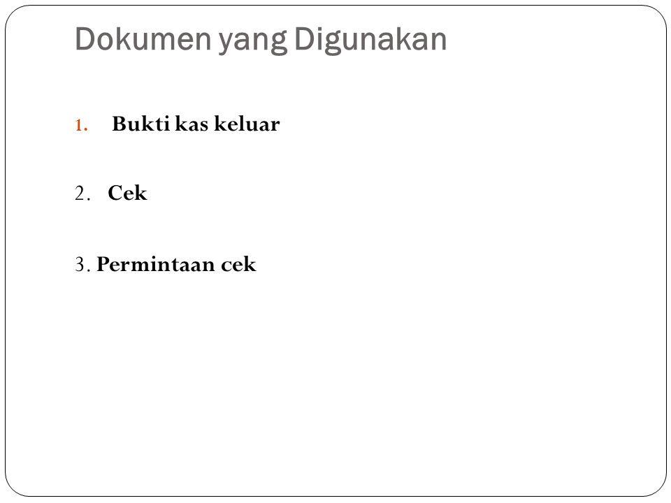Dokumen yang Digunakan