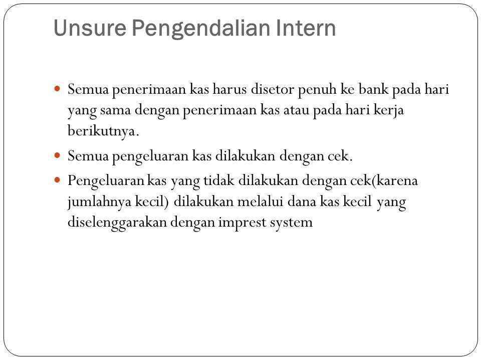 Unsure Pengendalian Intern