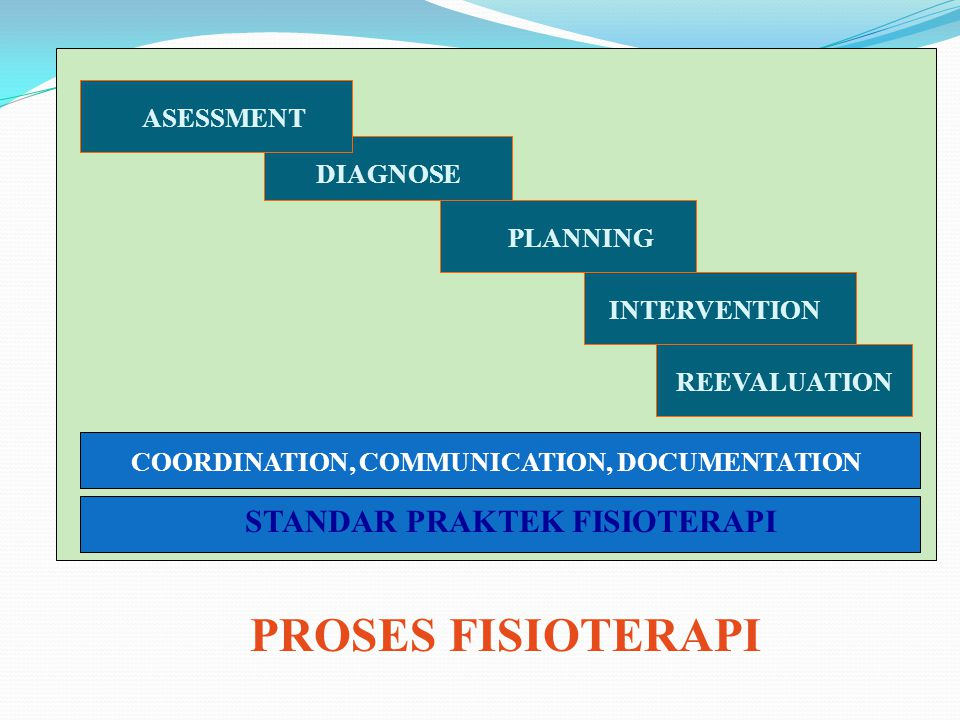 COORDINATION, COMMUNICATION, DOCUMENTATION STANDAR PRAKTEK FISIOTERAPI