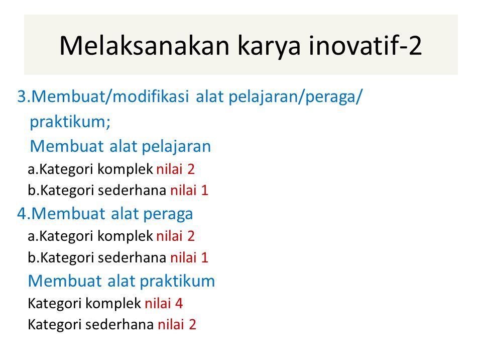 Melaksanakan karya inovatif-2