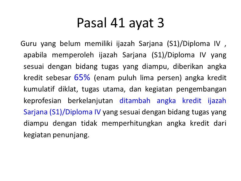 Pasal 41 ayat 3