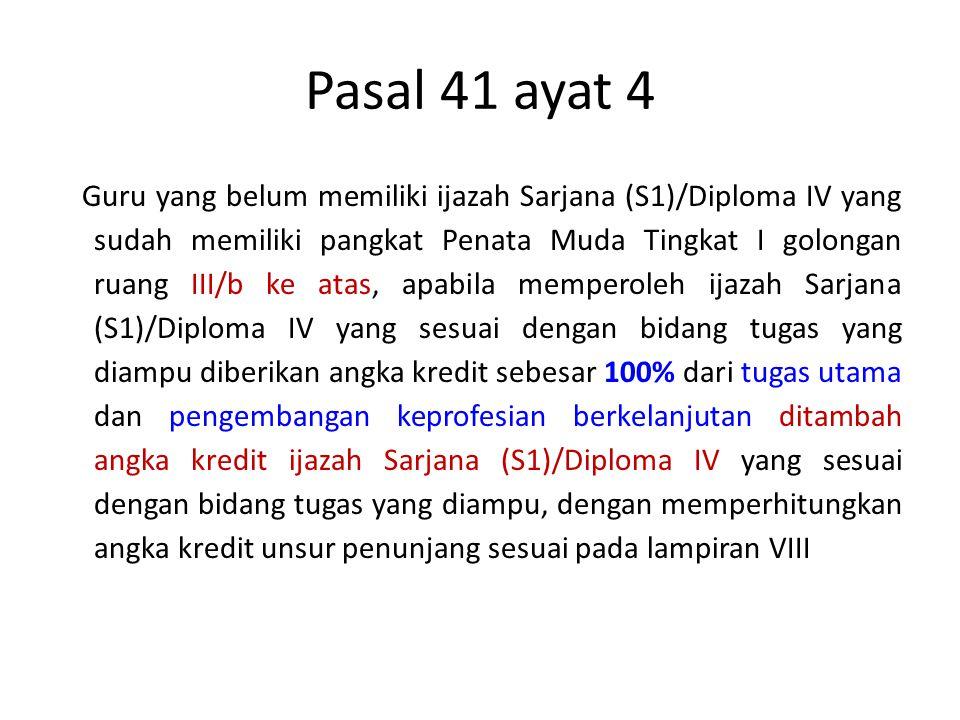 Pasal 41 ayat 4