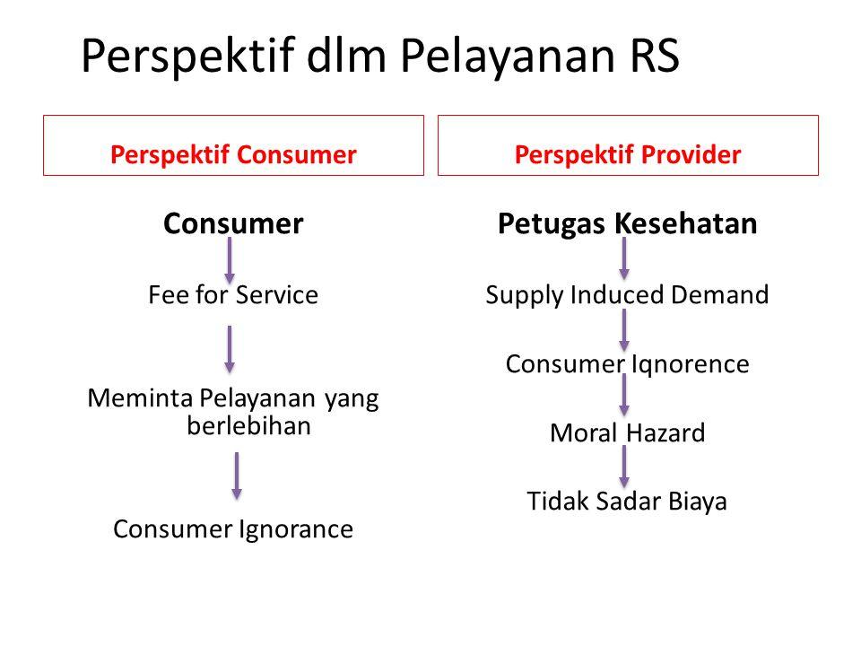 Perspektif dlm Pelayanan RS