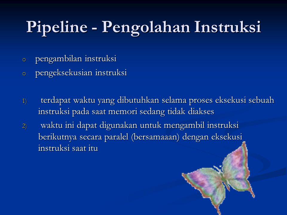 Pipeline - Pengolahan Instruksi