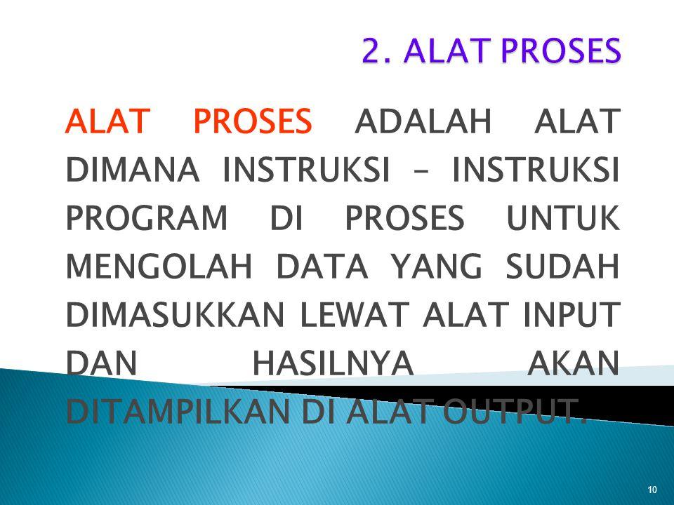 2. ALAT PROSES