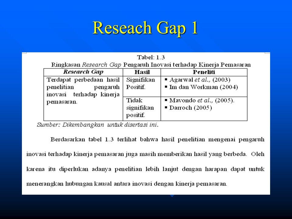 Reseach Gap 1