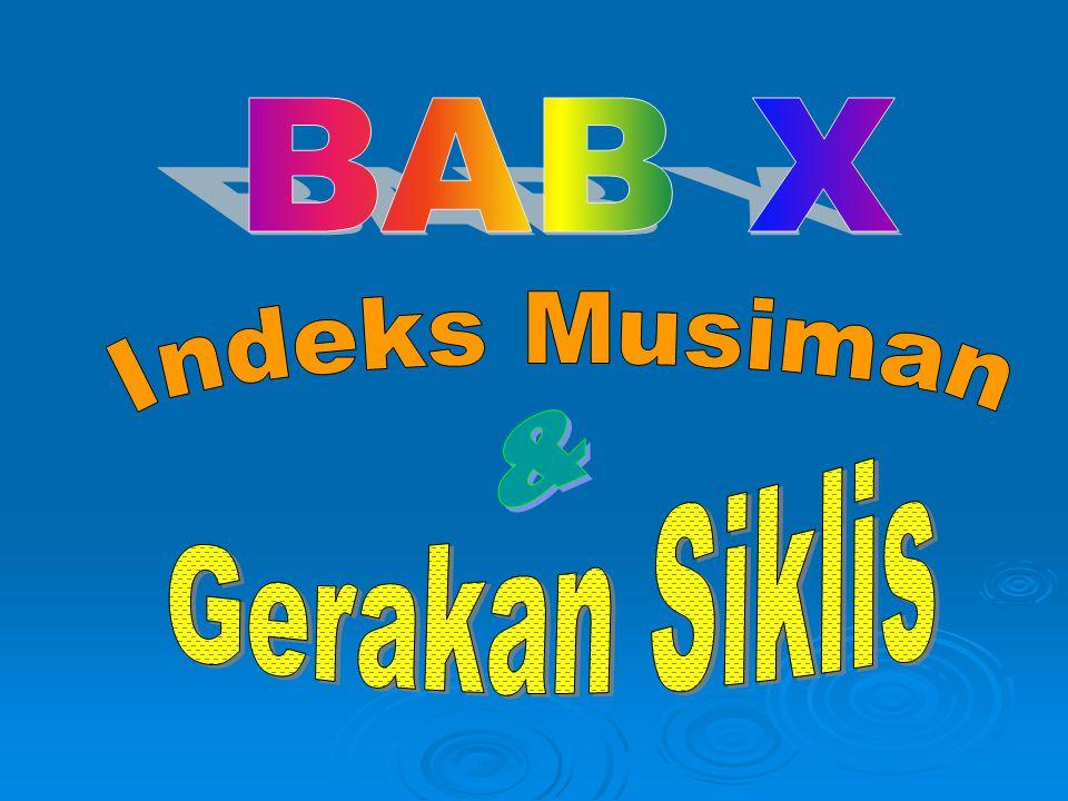 BAB X Indeks Musiman & Gerakan Siklis