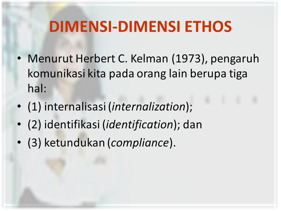 DIMENSI-DIMENSI ETHOS