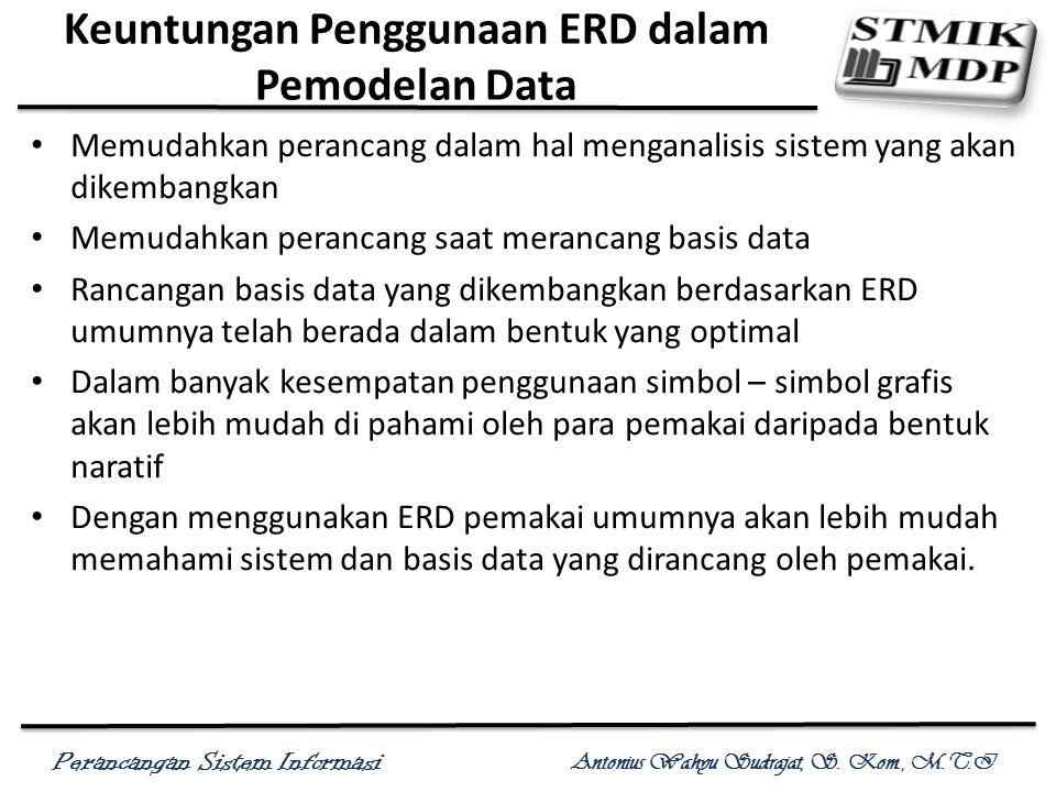 Keuntungan Penggunaan ERD dalam Pemodelan Data