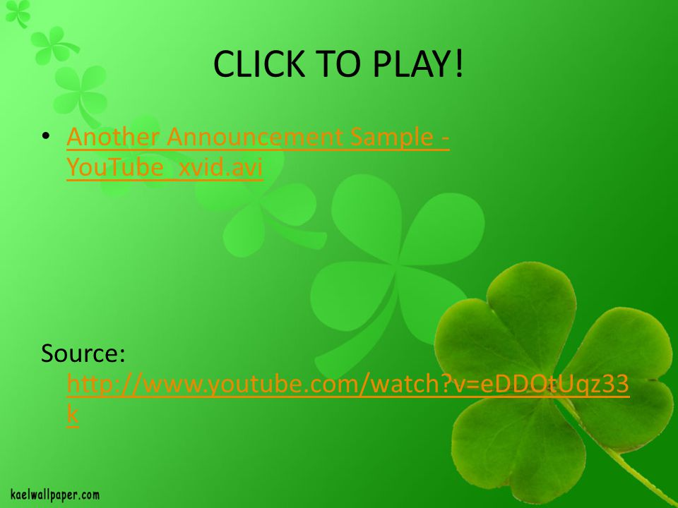 CLICK TO PLAY! Another Announcement Sample - YouTube_xvid.avi