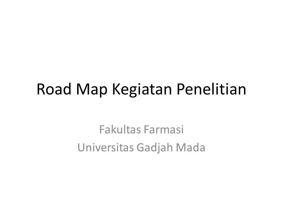 Road Map Kegiatan Penelitian