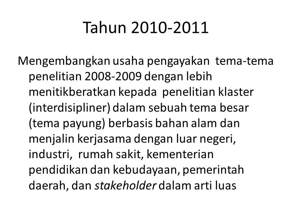 Tahun 2010-2011
