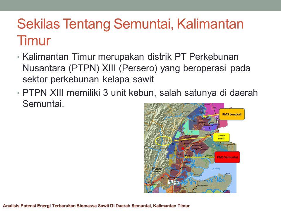 Sekilas Tentang Semuntai, Kalimantan Timur