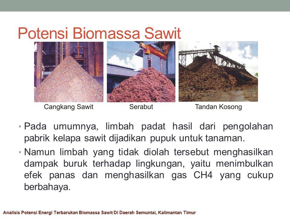Potensi Biomassa Sawit