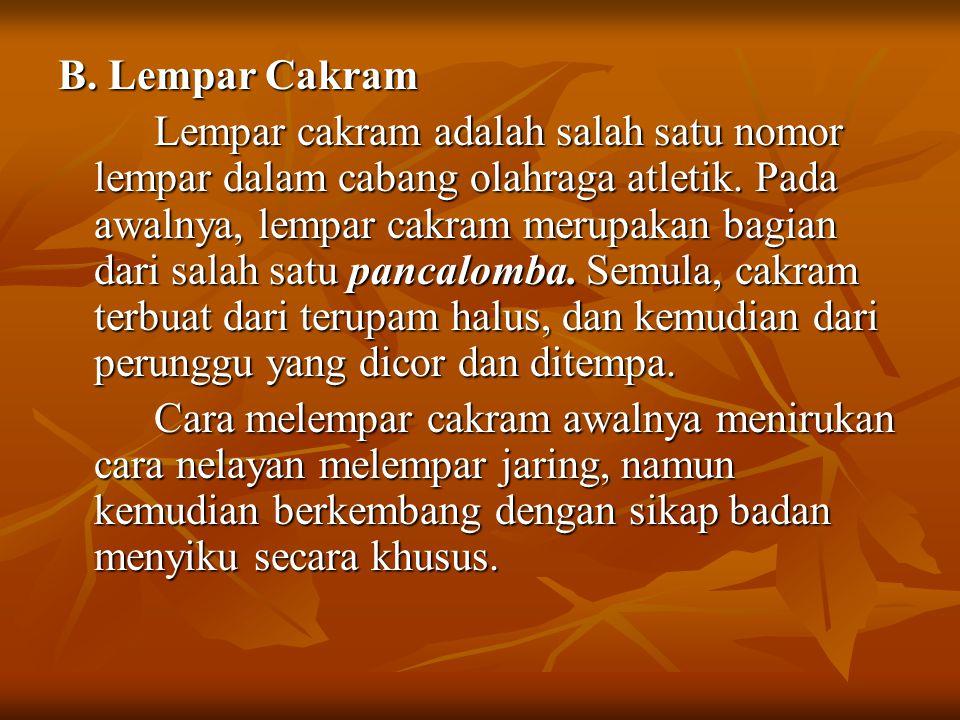 B. Lempar Cakram