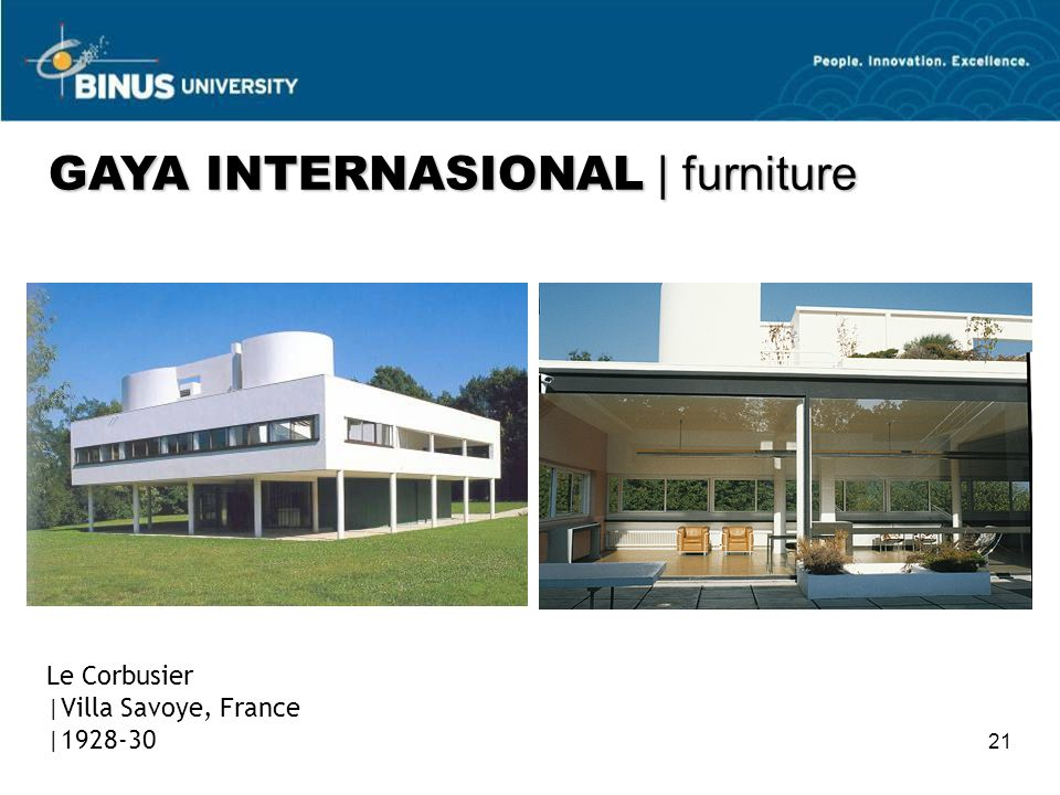 GAYA INTERNASIONAL | furniture
