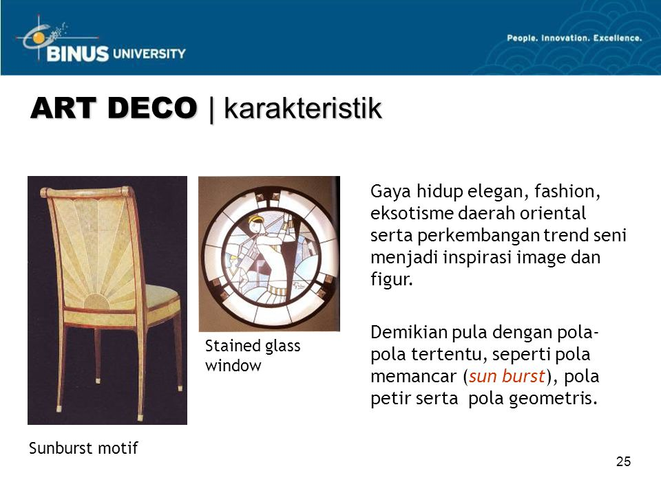 ART DECO | karakteristik