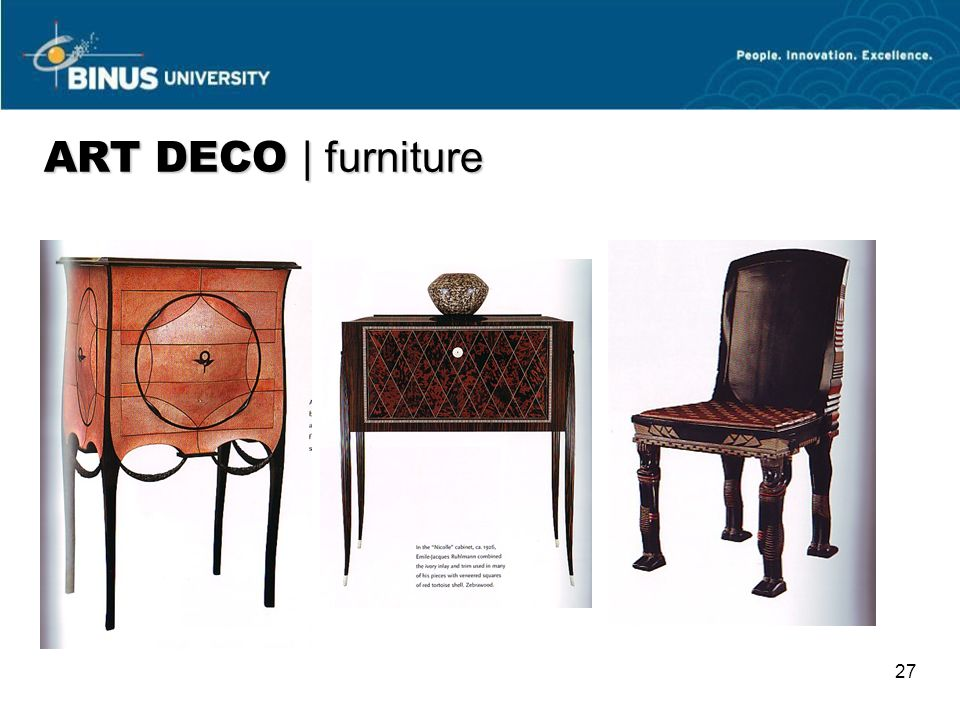 ART DECO | furniture 27