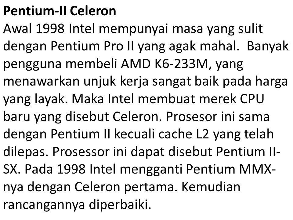 Pentium-II Celeron