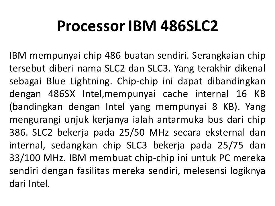 Processor IBM 486SLC2