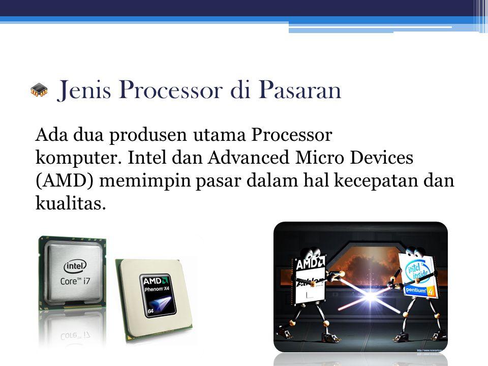 Jenis Processor di Pasaran