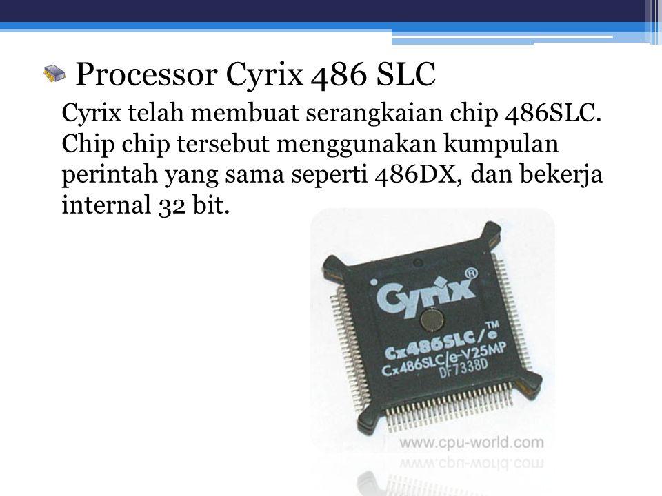 Processor Cyrix 486 SLC