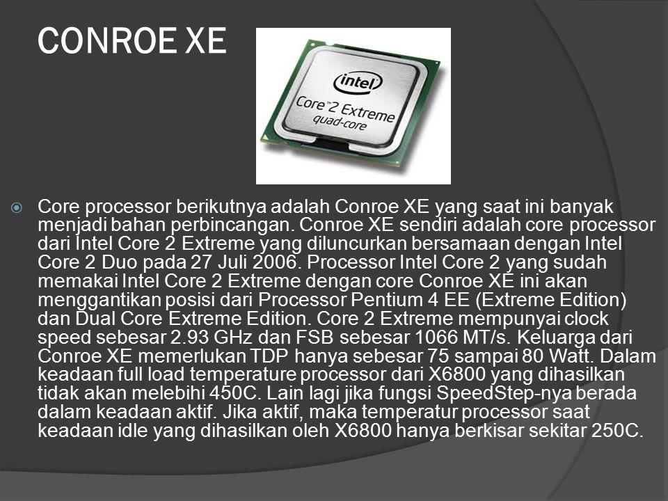 CONROE XE