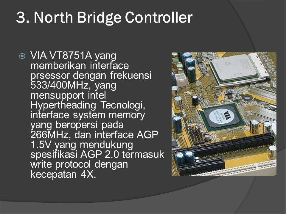 3. North Bridge Controller