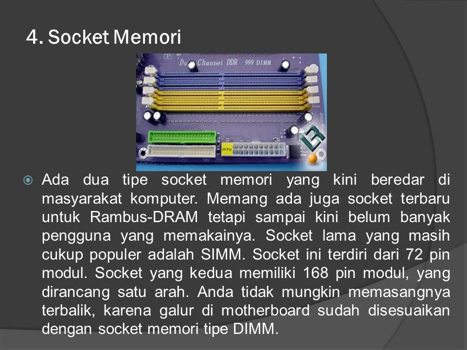 4. Socket Memori