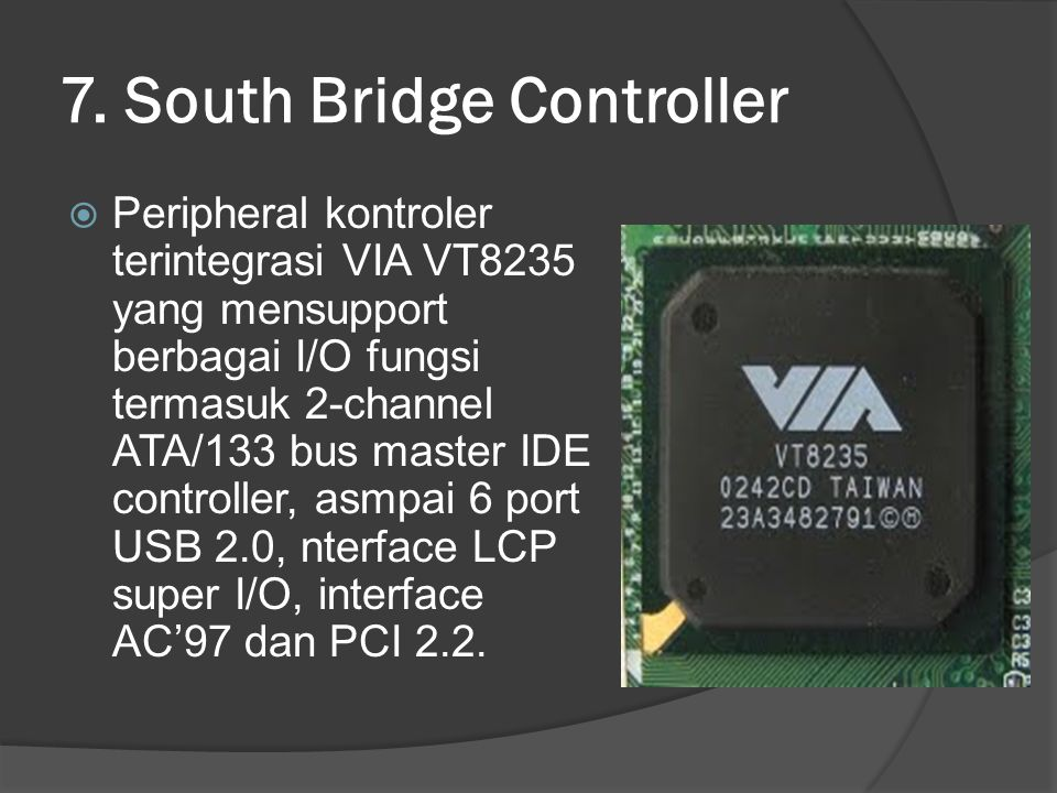 7. South Bridge Controller