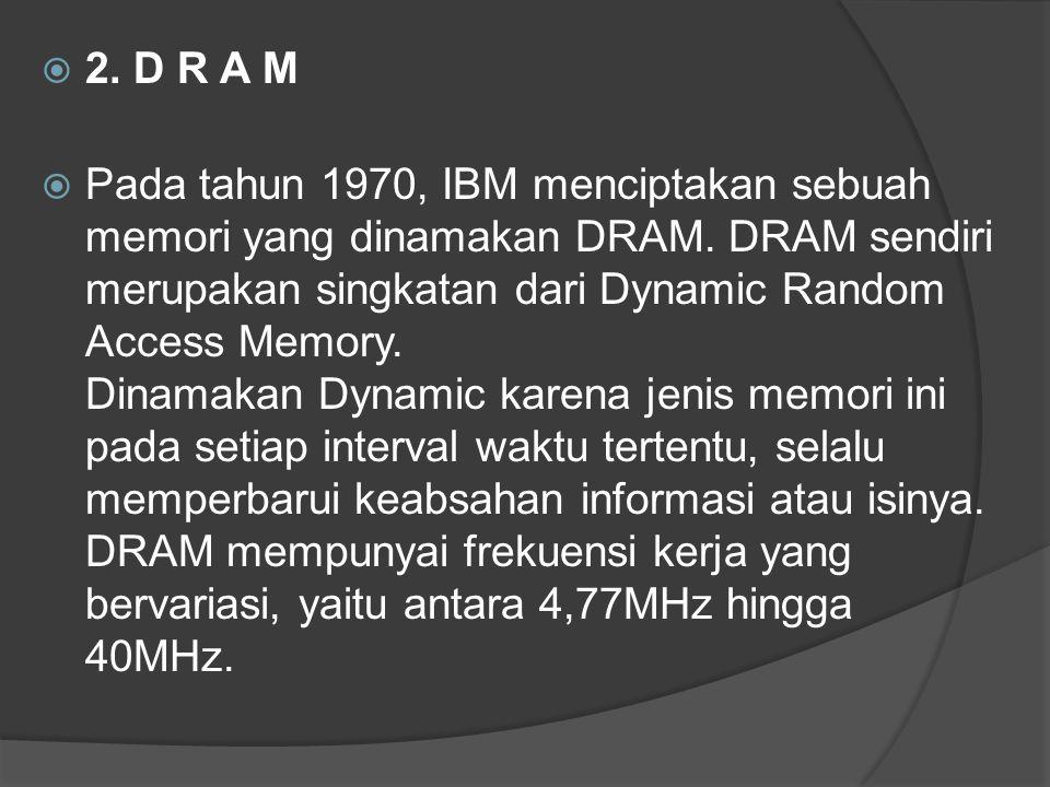 2. D R A M