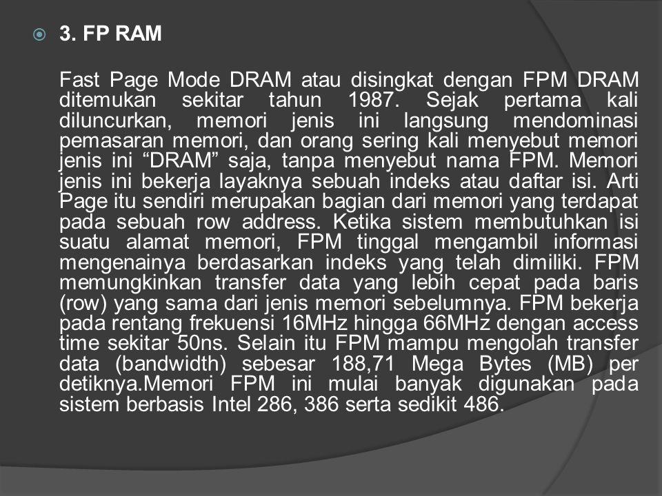 3. FP RAM