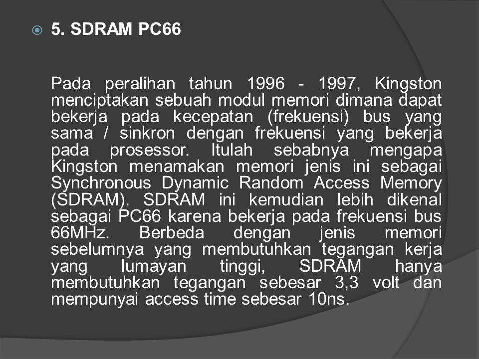5. SDRAM PC66