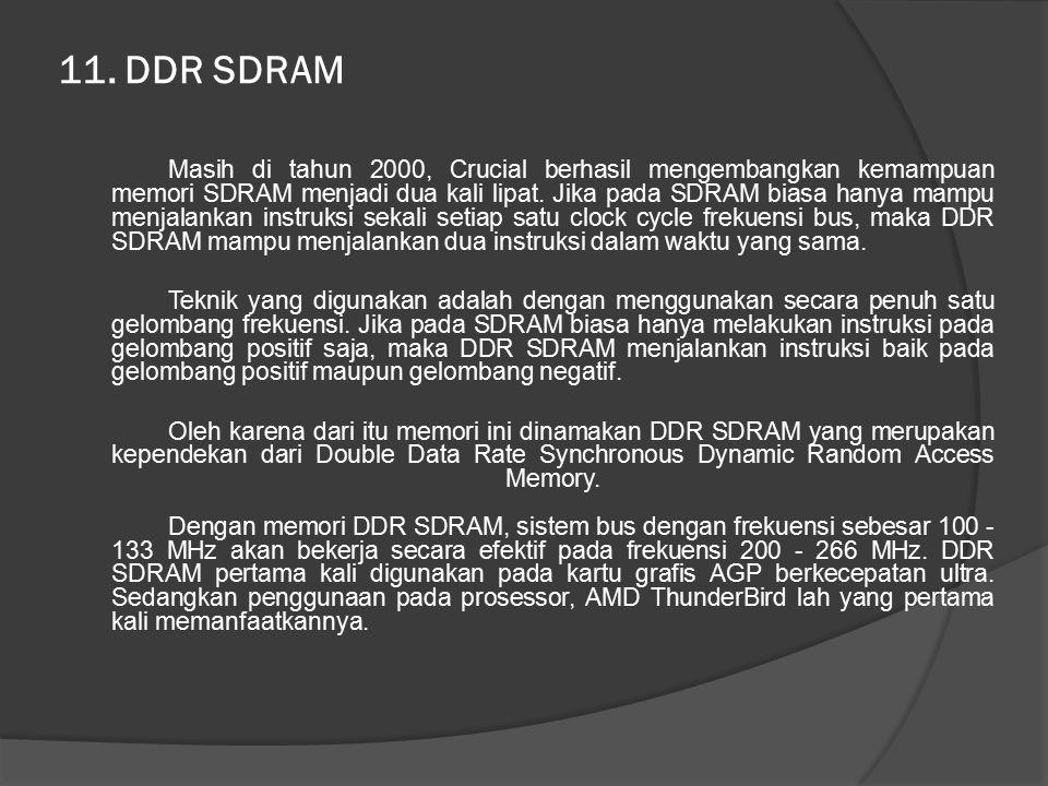 11. DDR SDRAM