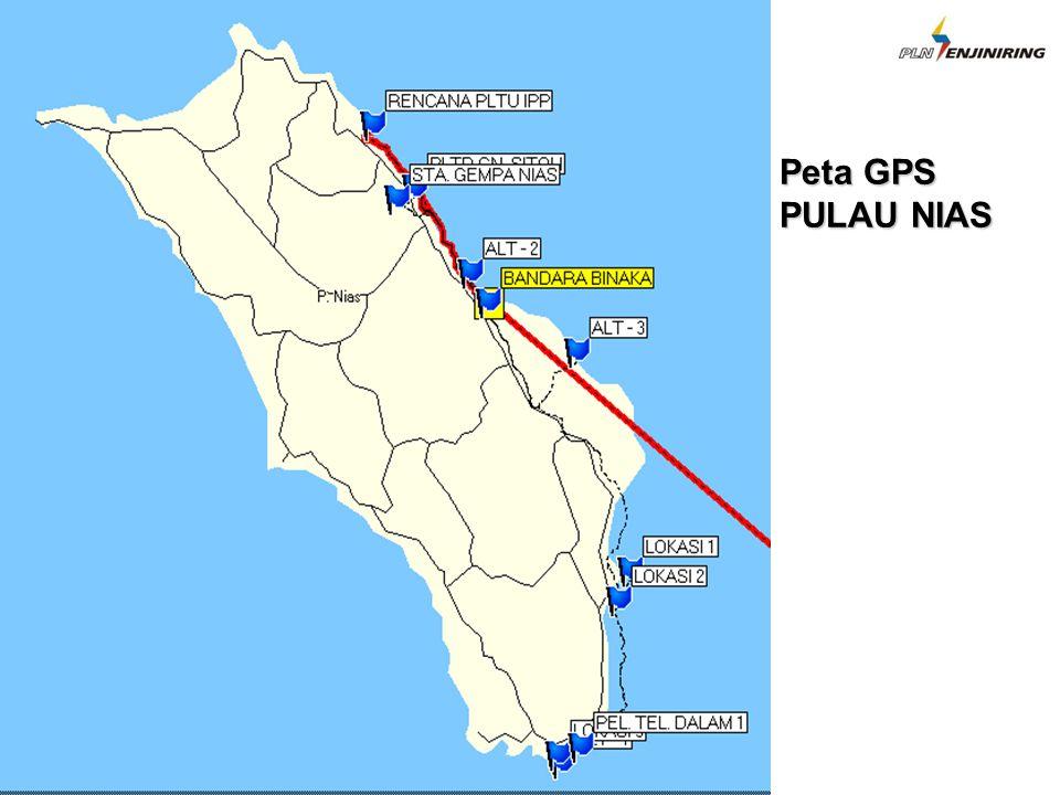 Peta GPS PULAU NIAS