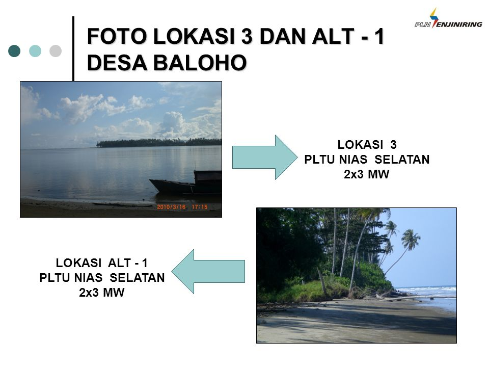 FOTO LOKASI 3 DAN ALT - 1 DESA BALOHO