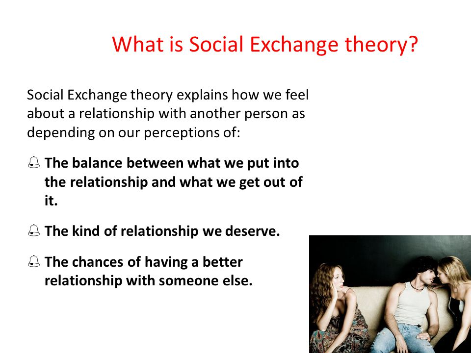 What is Social Exchange theory