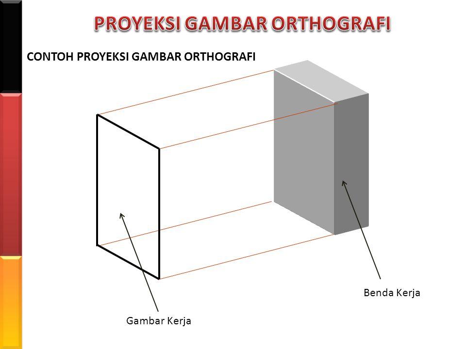 PROYEKSI GAMBAR ORTHOGRAFI