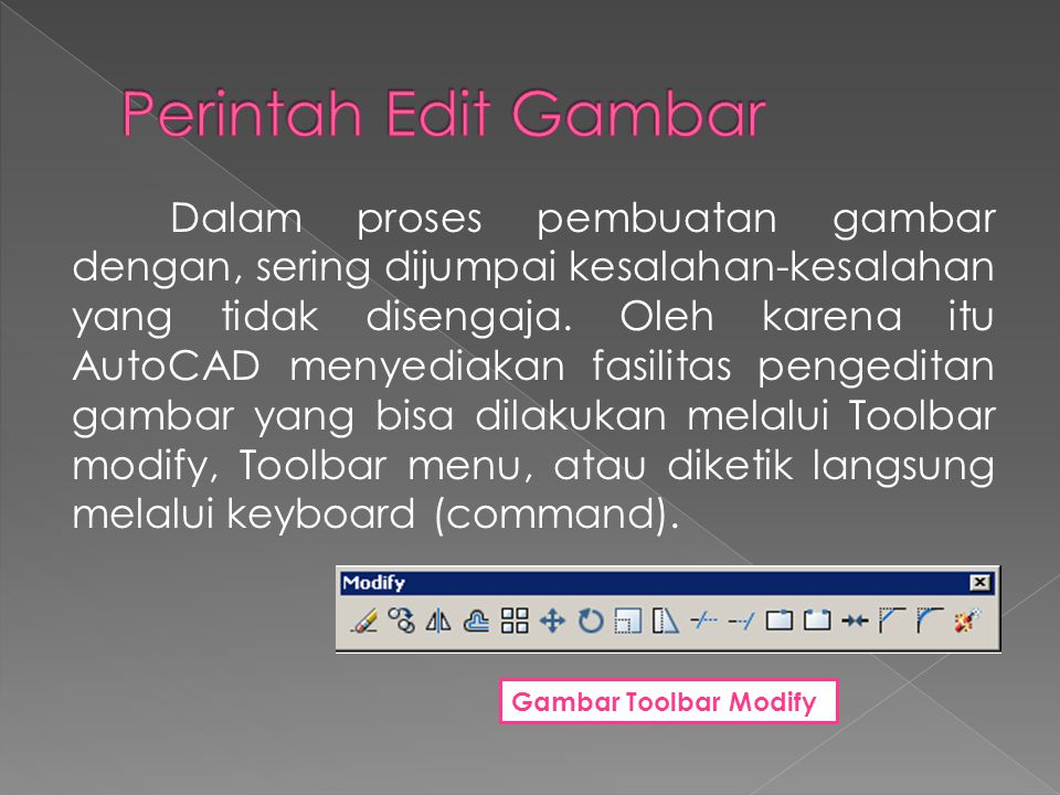 Perintah Edit Gambar