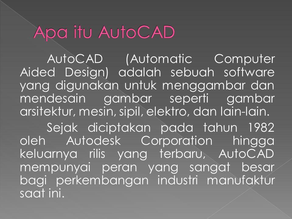 Apa itu AutoCAD